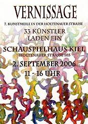 Einladung Kunstmeile 2006