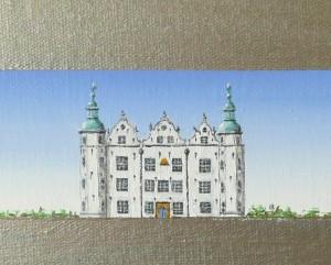 Streifenbild Ahrensburg Schloss