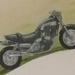 Motorrad Doris Heldt