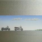 Motorräder Streifenbild