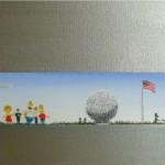 Simpsons gemalt Streifenbild