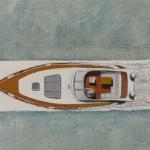 Motorboot Streifenbild