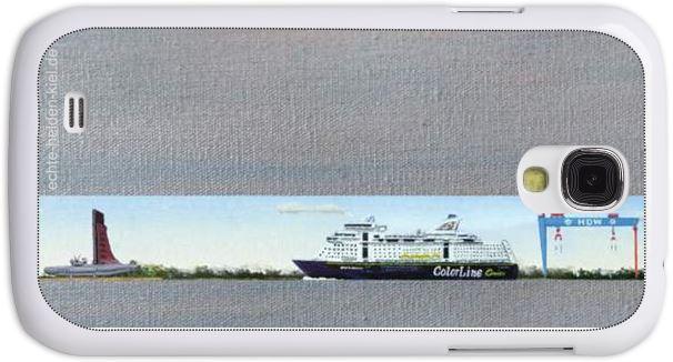 Streifenbild Handyhülle Samsung S4