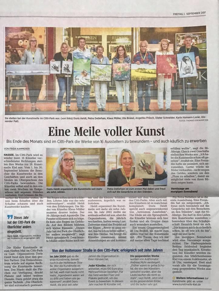 Kunstmeile Kiel KN 2017